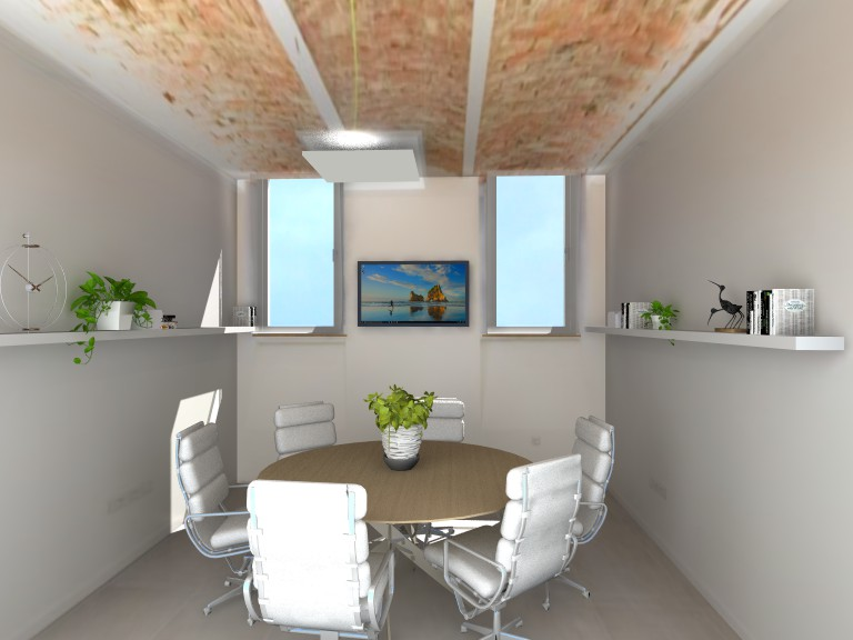 Teamwork room furniture plan